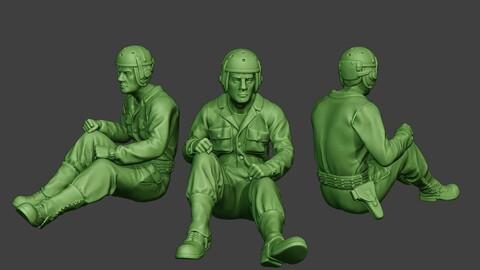American Tank Crew unit ww2 Sit3 ATC1