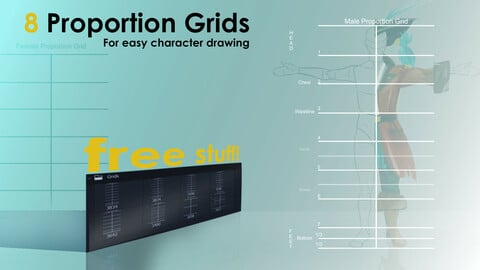 - FREE - Proportion Grids Help-Brushes