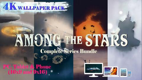 Among the Stars Complete series 4K Wallpaper Bundle
