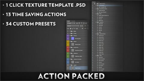 Action Packed! - Photoshop Action Pack
