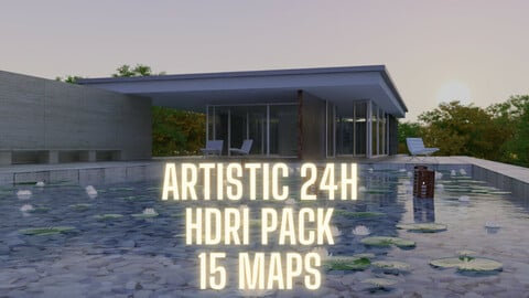 HDRI Pack Full Time of Day 8k Artistic (-60% Exclusive Sale 15$ instead of 30$)