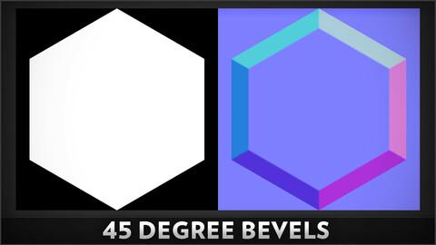 45 Degree Bevel - Substance Designer Node