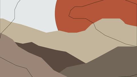 Landscape Artwork Illustration