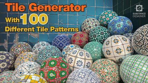 Tile Generator - Substance Designer