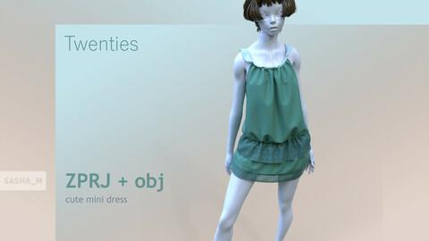 Twenties style dress