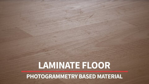 Laminate Floor | 8K Photogrammetry Based Material