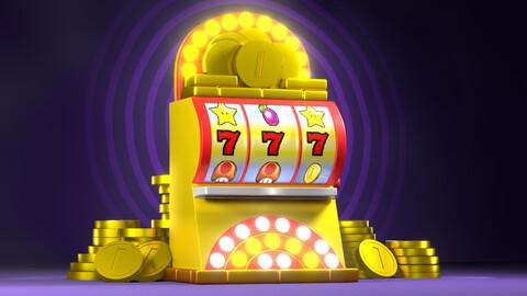 (FREE) Slot Machine - Mario 3D Wörld [Game Ready Asset]