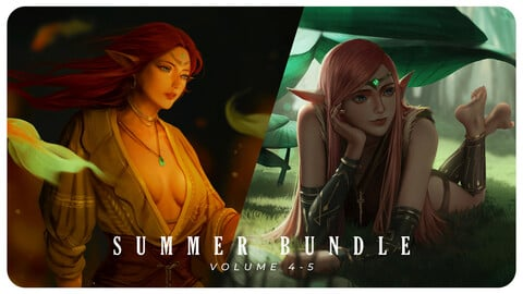 Tutorial & Walkthrough / Summer Bundle . Volume 4-5