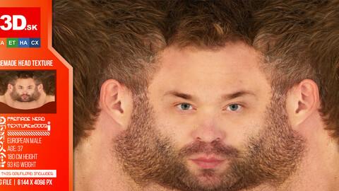 Male Premade Head Texture 0003