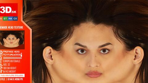 Female Premade Head Texture 0002