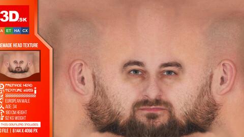 Male Premade Head Texture 293