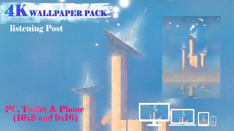 Listening Post 4K Wallpaper Pack