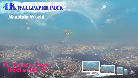 Mandala World 4K Wallpaper Pack