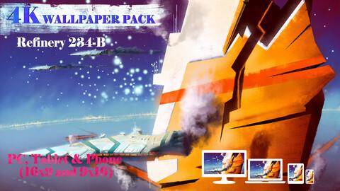 Refinery 234-B 4K Wallpaper Pack