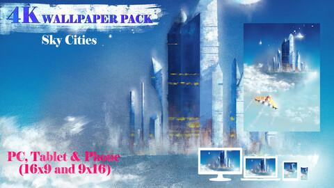 Sky Cities 4K Wallpaper Pack