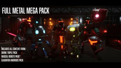 Full Metal Mega Pack Series - (Unreal Engine 4 Characters)