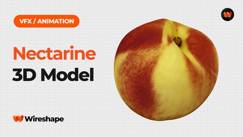 Nectarine - Extreme Definition 3D Scanned