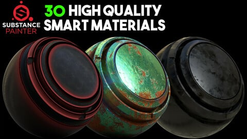 30 Reality And High Quality Smart Materials / .spsm