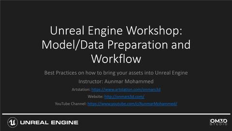 Free Unreal Engine Model Preparation Guide