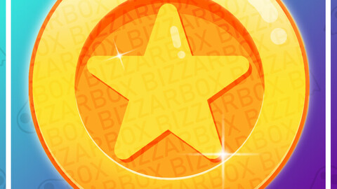 Twitch Channel Point Emote: Star Coin