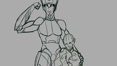 Full-Body - Sketch