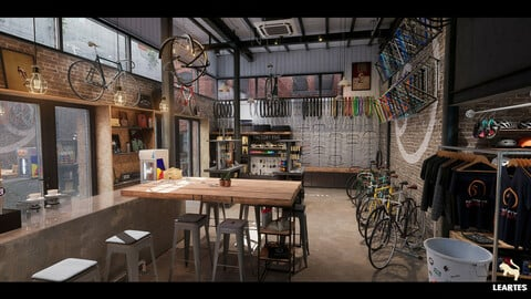 Bike Shop Environment / Unreal Engine 4