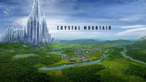 Crystal Mountain - Concept / Illustration