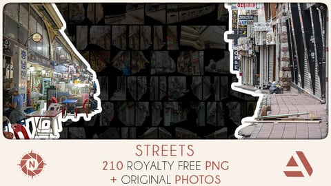 PNG Photo Pack: Streets