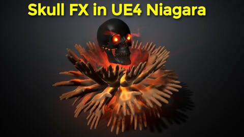 Skull Fx in UE4.26 Niagara