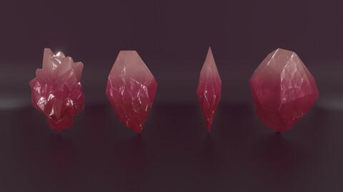 Crystals Lowpoly PBR