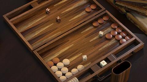 Ready to Play - Backgammon Set