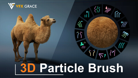 Blender Addon | 3D Particle Brush