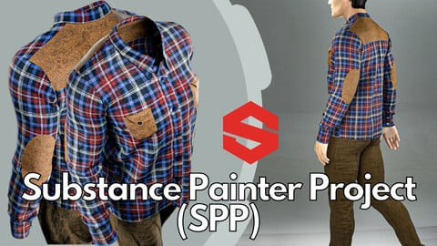 Substance Painter ( .SPP ) : Men's casual shirt & pants