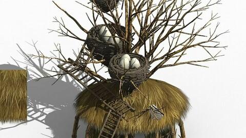 Primitive tribe - tree building 02