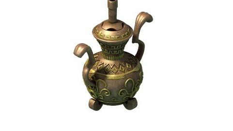 Ancient Chinese bronze incense burner