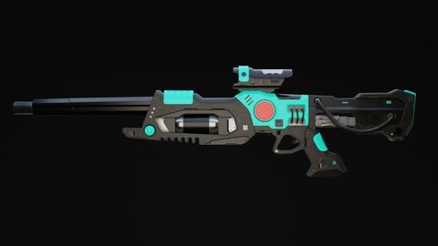 Viir Rifle Scifi Game Ready