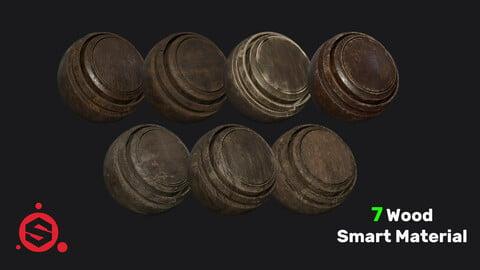 7 Wood Smart Material