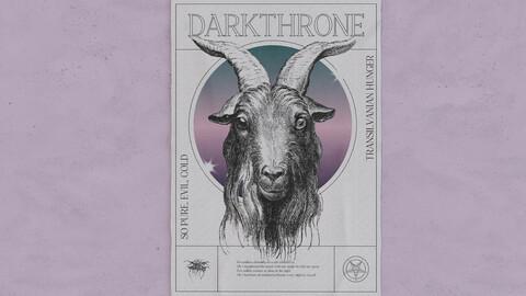 DARKTHRONE - Poster Design