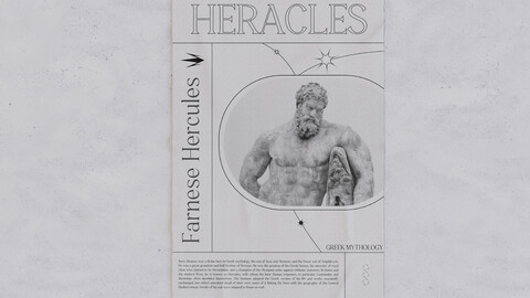 HERACLES - Poster Design