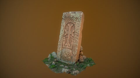 Cross stone Photogrammetry