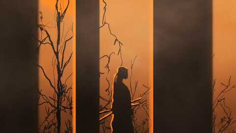 Silhouette Drawing
