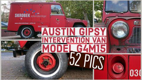 Austin Gipsy Intervention Van, model G4M15 1964, 52 reference images