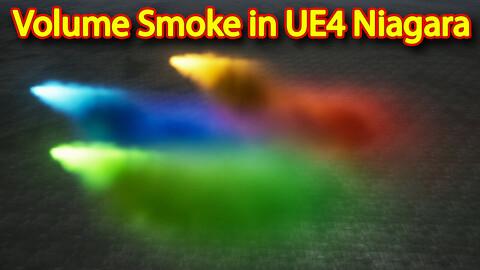 Volume Smoke in UE4.26 Niagara
