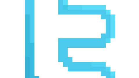 Pixel logotypes