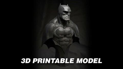 Batman Bust - 3D Printable Model