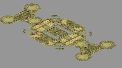 Underground Graves - Floor Tiles 32