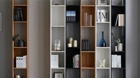 Konel interior niche bookshelf 300