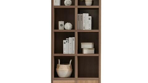 810-5 stackable bookcase bookshelf cabinet shelf