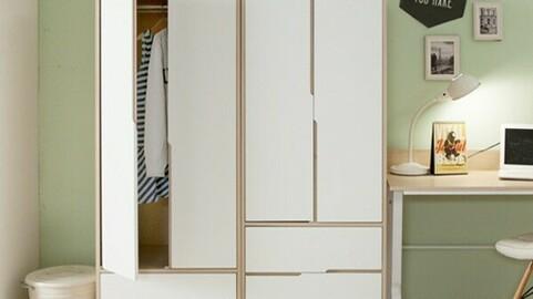 KIKO 600 Mini One Drawer Wardrobe_DO01