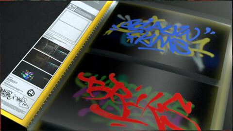 The BRIKS Graffiti Scrapbook